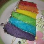 Easy Recipes-Rainbow cake