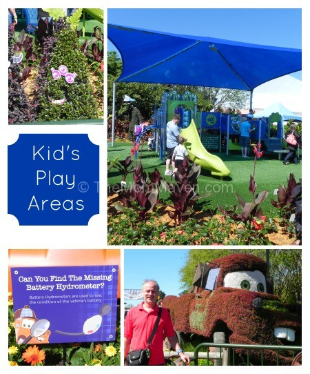 Kid's Play Areas at 2014 Epcot Flower & Garden Festival