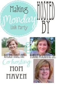 Making Monday Link Party