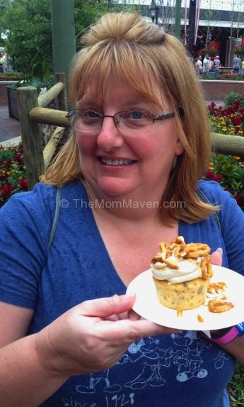 Piggylicious Bacon Cupcake at Epcot International Flower & Garden Festival