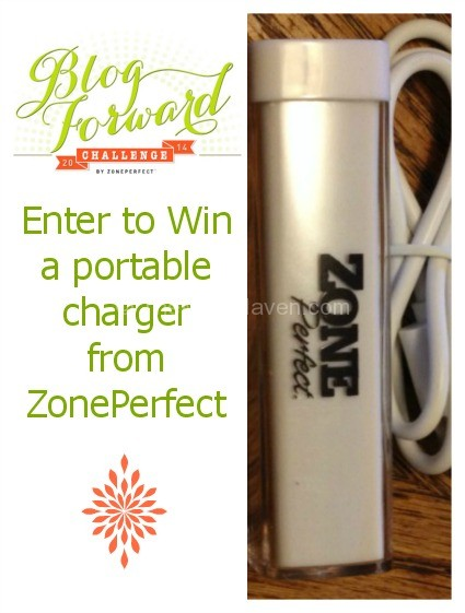 Win a portable charger from ZonePerfect