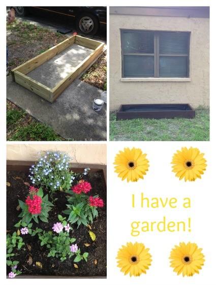 I have a garden