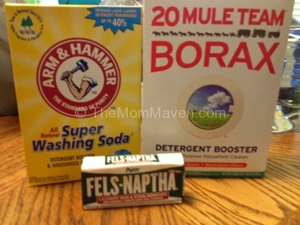 5 cents a load laundry soap ingredients