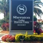 Sheraton Lake Buena Vista sign