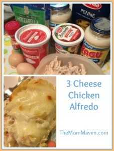 3 Cheese Chicken Alfredo