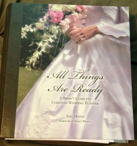 All things are Ready Christian wedding planner