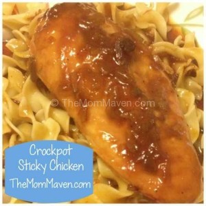 Crockpot Sticky Chicken