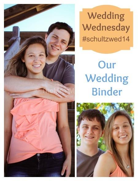 Wedding Wednesday-Our Wedding Binder