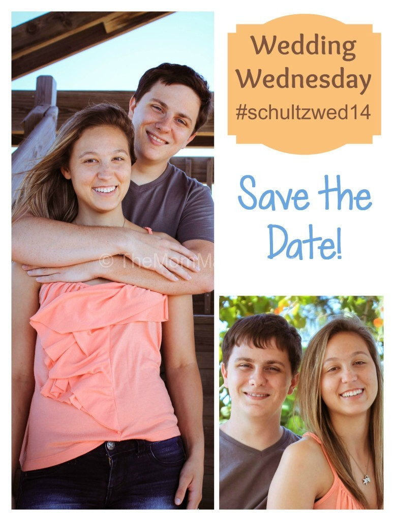 Wedding Wednesday save the date