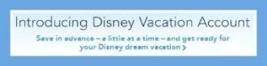 The Disney Vacation Account