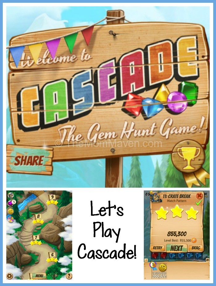 Let's Play Cascade-TheMomMaven.com