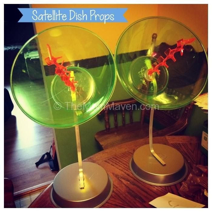 Satellite Dish Props-TheMomMaven.com