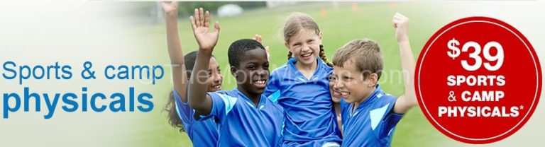 #gobackhealthy -sports physicals at MinuteClinic-TheMomMaven.com