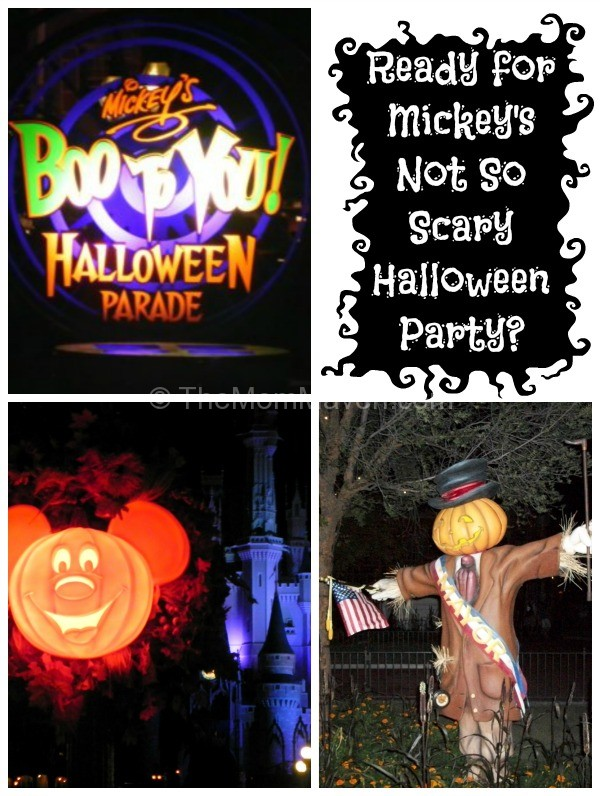 Are you Ready for Mickey's Not So Scary Halloween Party-TheMomMaven.com