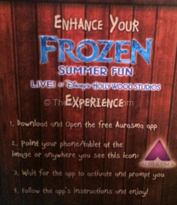 Aurasma app directions-Frozen Summer Fun-TheMomMaven.com