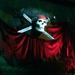 Disembodied skull-the legend of Captain Jack Sparrow-TheMomMaven.com