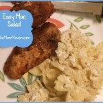 Easy Recipes-Mac Salad-TheMomMaven.com