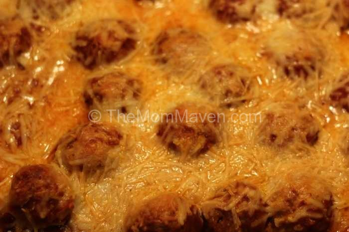 easy recipesmeatball sub casserole the mom maven