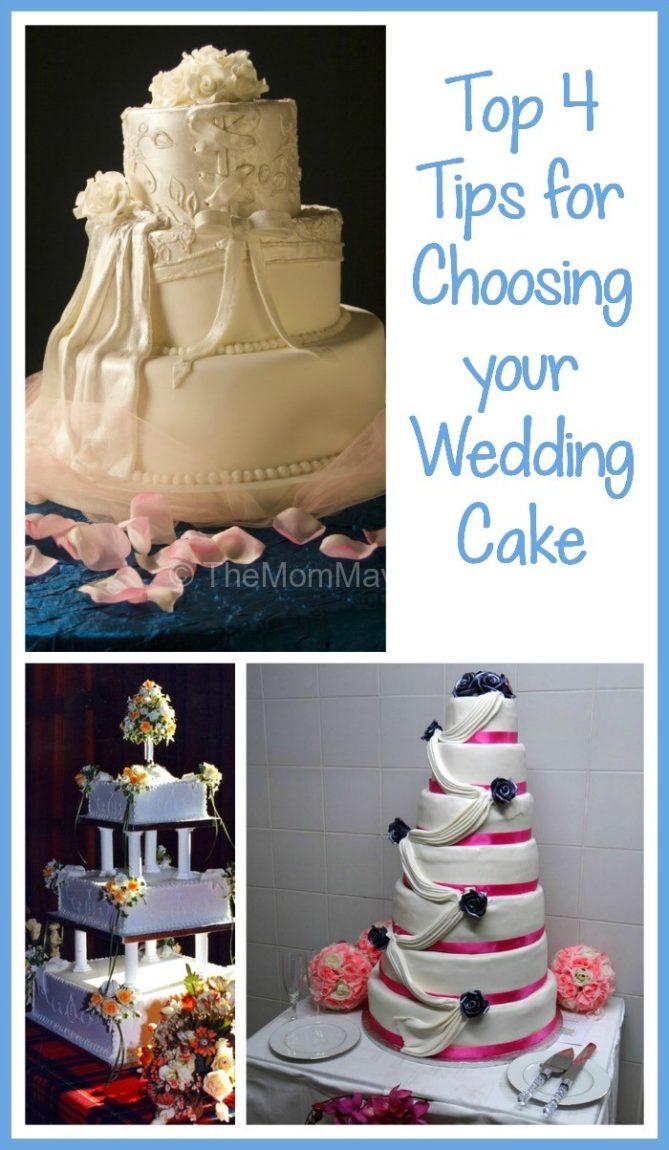 Tips For Choosing Wedding Cake