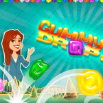 Gummy Drop iOS game freview-theMomMaven.com