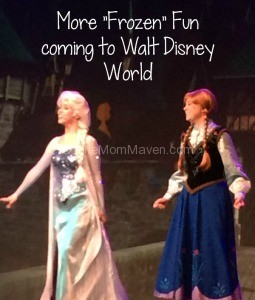 More Frozen Fun coming to Walt Disney World-theMomMaven.com