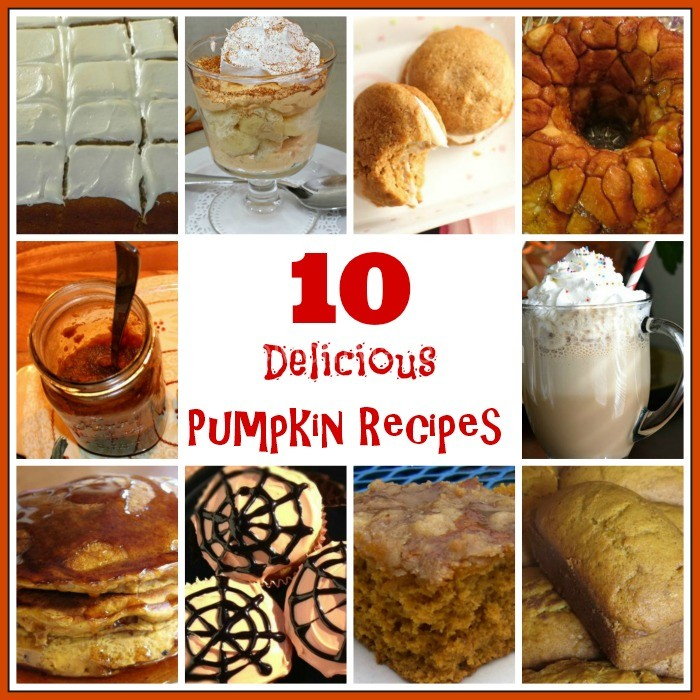 10 Delicious Pumpkin Recipes-TheMomMaven.com