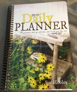 2015 Daily Planner by Sue Hooley-TheMomMaven.com