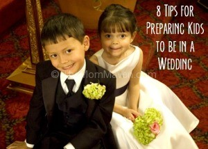 8 tips for preparing kids to be in a wedding