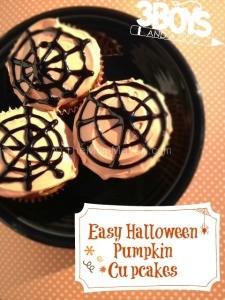 Easy-Halloween-Pumpkin-Cupcakes