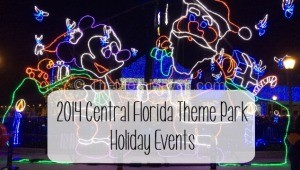 2014 Central Florida Theme Park Holiday Events