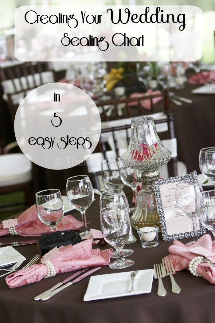 creating your wedding seating chart in 5 easy steps