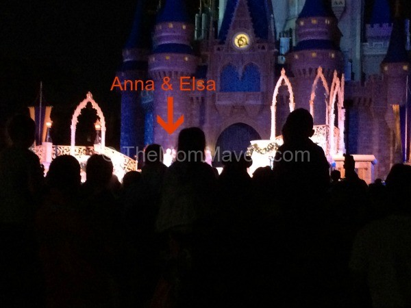"""Is it worth it to fight the crowds to see the very brief """"A Frozen Holiday Wish"""" at the Magic Kingdom?"""