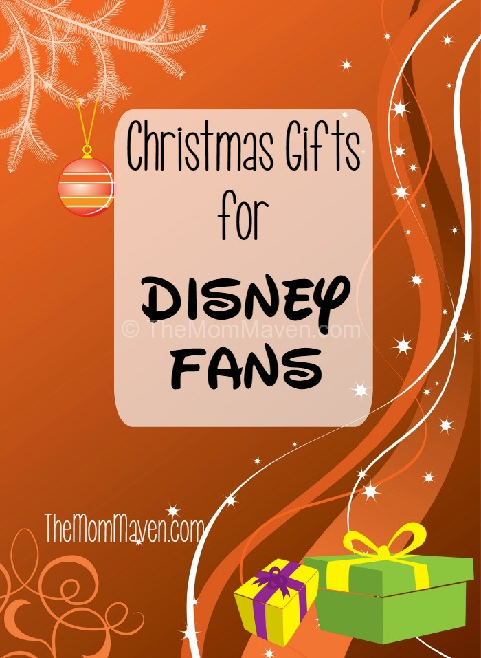 Have a Disney fan on your Christmas list? Here is a list of gift ideas for Disney fans.
