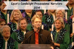 Steven Curtis Chapman narrating Epcot's Candlelight Processional