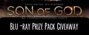 Son of God movie prize pack giveaway