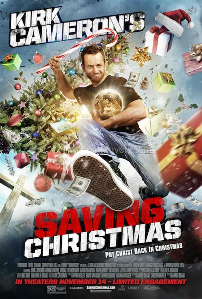 Kirk Cameron's Saving Christmas will help you put CHRIST back in Christmas.