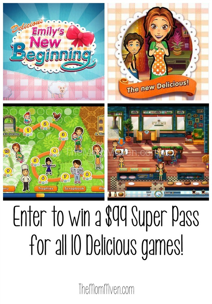 Enter to win Delicious- Emily's New Beginning and 9 more games!