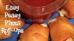 Easy Peasy Pizza Roll-ups-a quick and easy snack or appetizer
