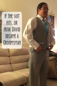 If the suit fits... a wedding story