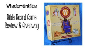 Wisdomantics Bible Board Game