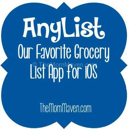 Anylist -our favorite grocery list app