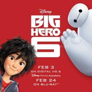 Big Hero 6 is coming to Blu-ray