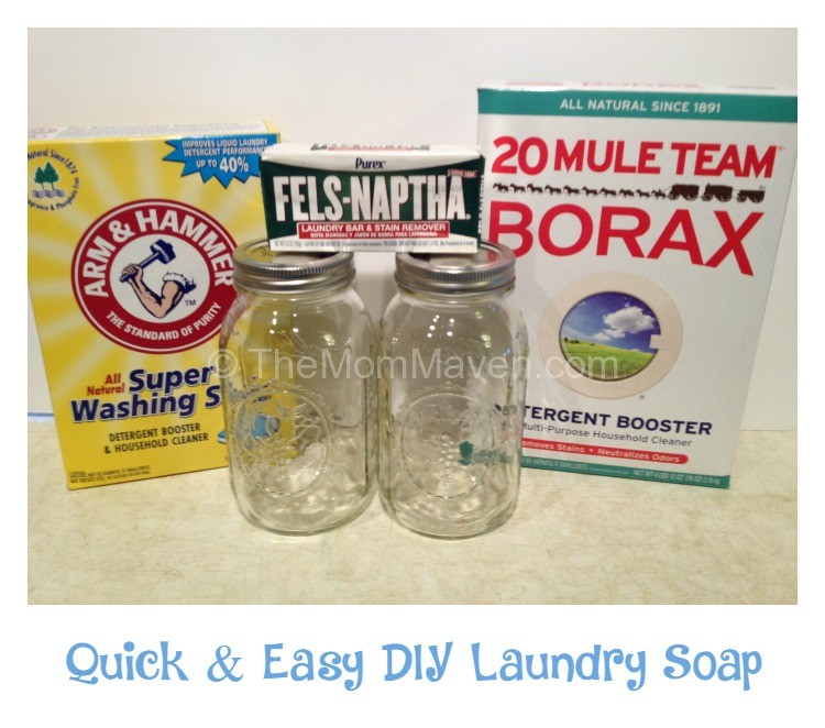 Quick and Easy DIY Laundry Soap - The