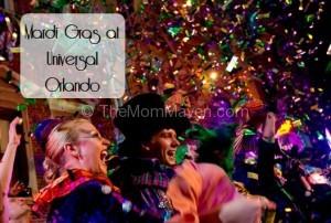 Universal Orlando Mardi Gras 2015