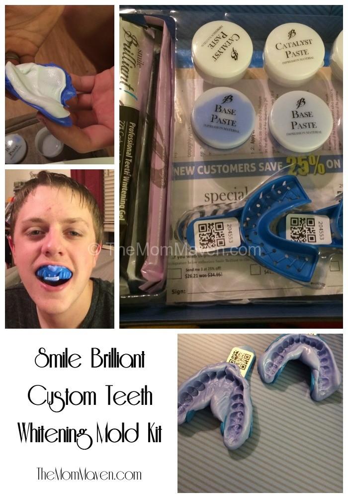 Smile Brilliant Custom Teeth Whitening Mold Kit