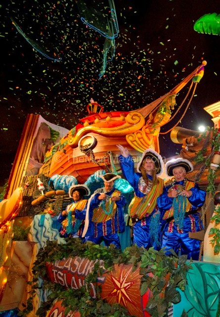 Mardi Gras Beads at Universal Orlando