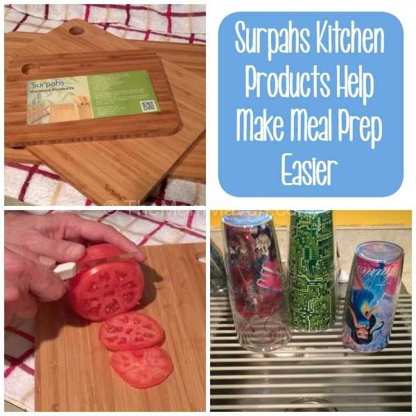 Surpahs Kitchen Products Help Make Meal prep easier