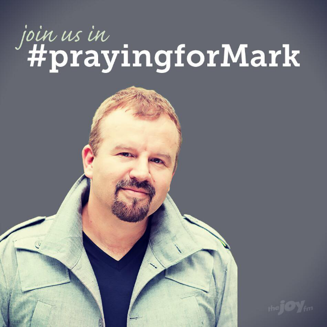 Praying for Mark Hall #prayingformark