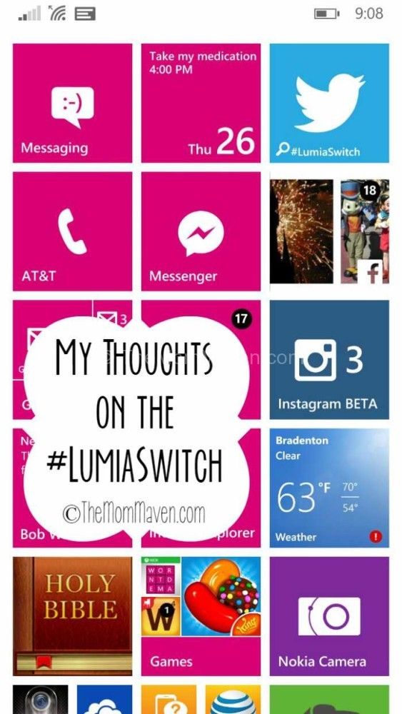 My Thoughts on the #LumiaSwitch