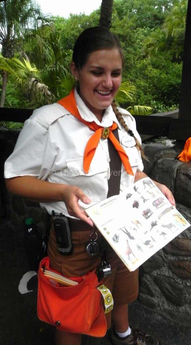 Wilderness Explorer Troop Leader at Animal Kingdom